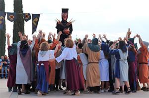 Màxima afluència de gent els dies de la Festa de la Malavella