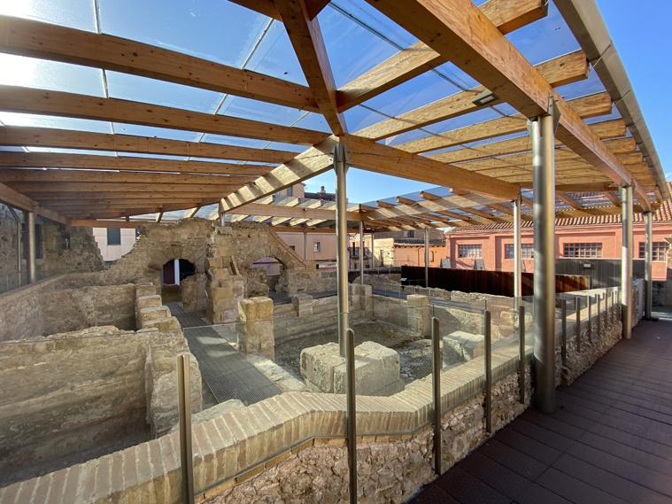 Termes Romanes i Puig de Sant Grau