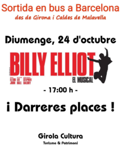 Sortida en bus a Barcelona: des de Girona i Caldes de Malavella